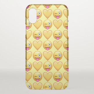 Goofy Emoji iPhone X Clearly™ Case