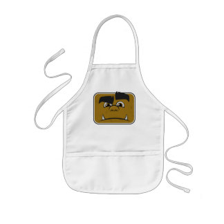 Goofy Face #1 Kids Apron