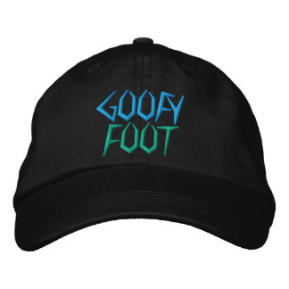 GOOFY  FOOT cap Embroidered Hats