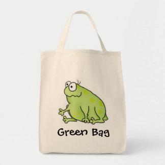 Goofy Frog Tote Bag