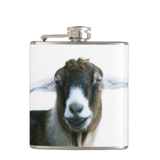 Goofy Goat Hip Flask