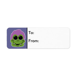 Goofy Goblin Return Address Label