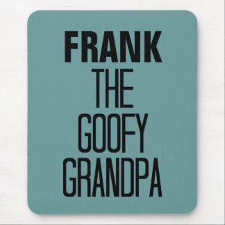 Goofy Grandpa Mouse Pad