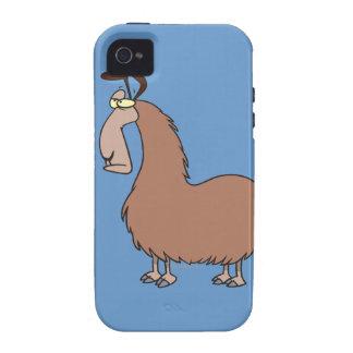 goofy llama cartoon iPhone 4/4S case