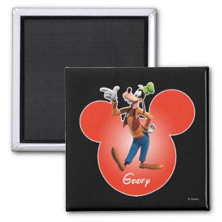 Goofy | Mickey Head Icon Magnet