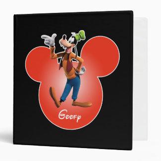 Goofy | Mickey Head Icon Vinyl Binders