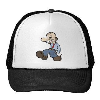 Goofy Office Guy Hats