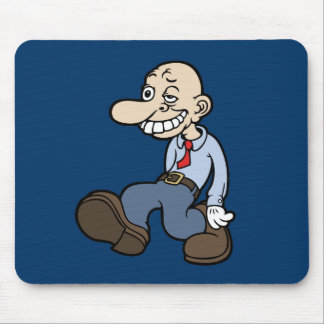 Goofy Office Guy Mouse Pad