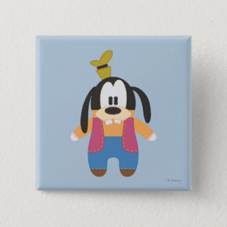 Goofy | Pook-a-Looz 2 Inch Square Button