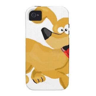 Goofy Puppy Cartoon iPhone 4/4S Covers