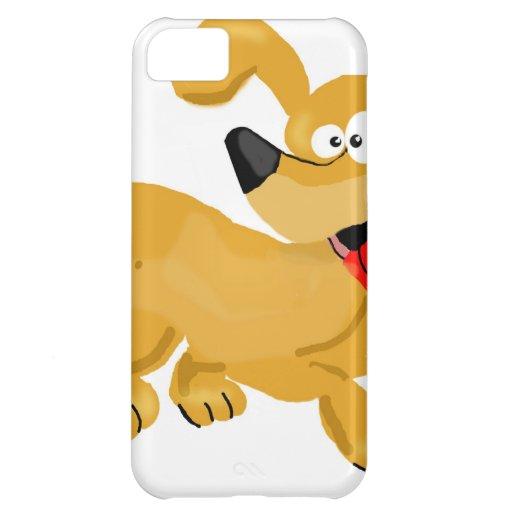 Goofy Puppy Cartoon iPhone 5C Covers
