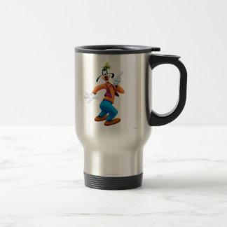 Goofy | Side Finger Up 15 Oz Stainless Steel Travel Mug
