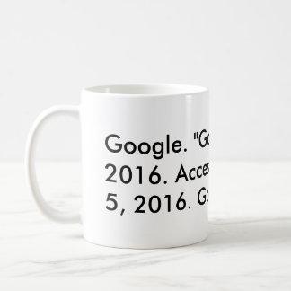 Google Citation (Chicago) Coffee Mug