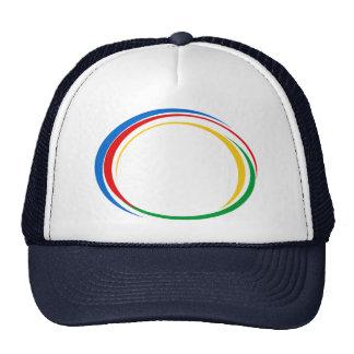 Google colors trucker hat