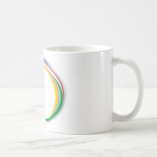 Google colours coffee mug