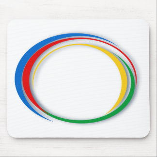 Google colours mouse pad