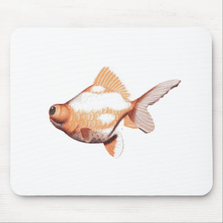 Google Eyed Gold Fish 2 Mouse Pad