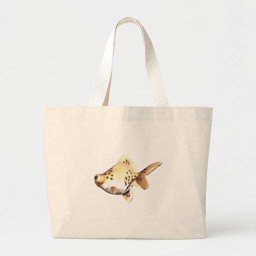 Google Eyed Goldfish 4 Canvas Bag