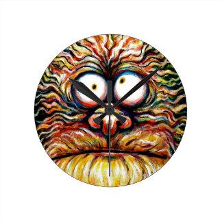Google Eyed Monster Clock