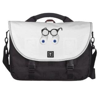 Google Eyes Laptop Bag