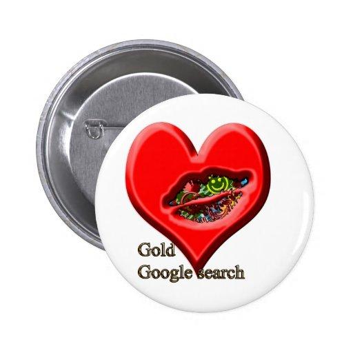 Google Gold search Pin