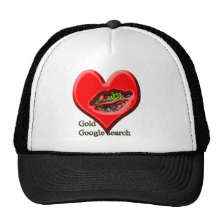 Google Gold search Mesh Hat