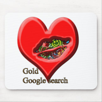 Google Gold search Mouse Pad