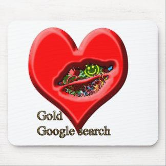 Google Gold search Mousepads