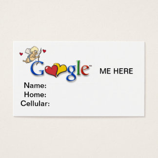 Google business cards and business card templates zazzle for Google business card templates