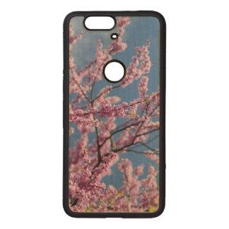 Google Nexus 6p pink flower phone case
