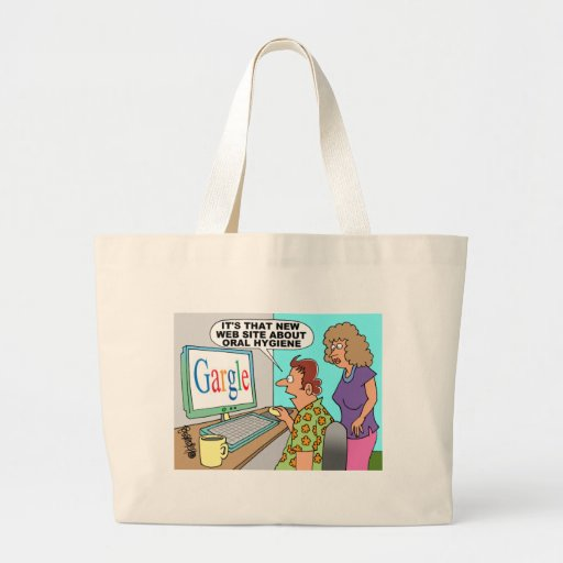 Google Parody Cartoon Bag