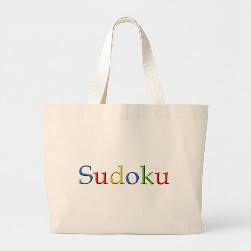 Google Sudoku Tote Bag
