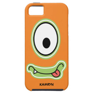 Googly Eye Silly Grinning Monster Face Case For The iPhone 5