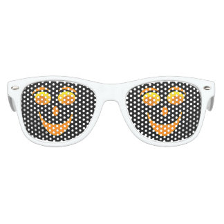 Googly Eyes Black Kids Retro Party Shades