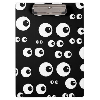 Googly Eyes Clipboard