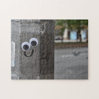 Googly Eyes Eyeballs New York City Photography NYC Jigsaw Puzzle