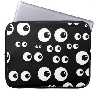 Googly Eyes Laptop Sleeve