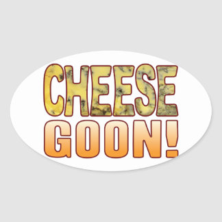 Goon Blue Cheese Oval Sticker