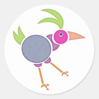 Gooney Bird Classic Round Sticker