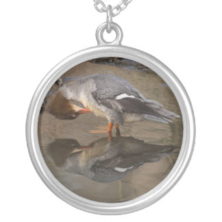Goosander Silver Plated Necklace