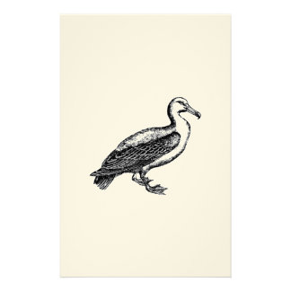 Goose Bird Collection Personalized Stationery
