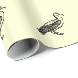 Goose Bird Collection Wrapping Paper