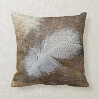 Goose Feather Still Life Throw Pillow