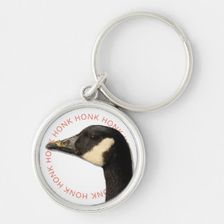 Goose Head Keychain