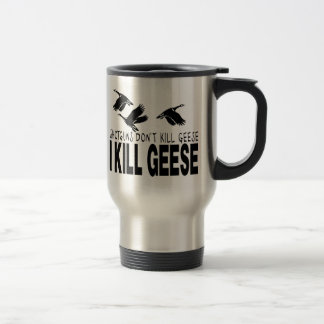 GOOSE HUNTING TRAVEL MUG
