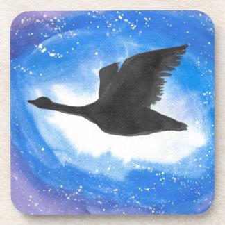 Goose In Flight Drink Coasters