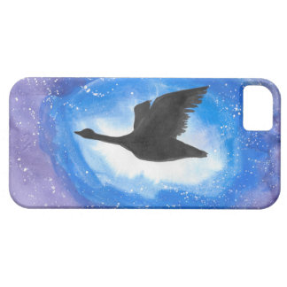 Goose In Flight iPhone 5 Cases