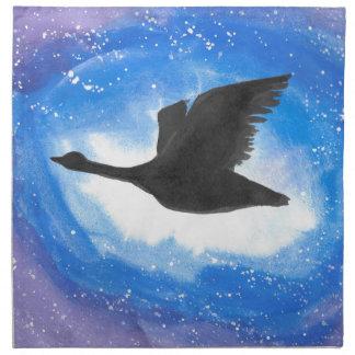 Goose In Flight Napkin