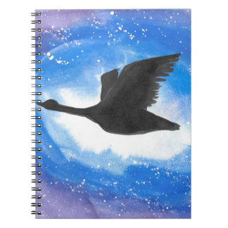 Goose In Flight Notebooks