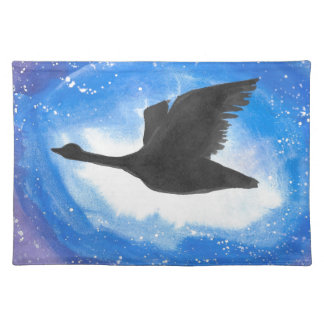 Goose In Flight Placemat